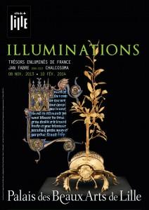 Affiche Illuminations-Trésors enluminés de France (montage)