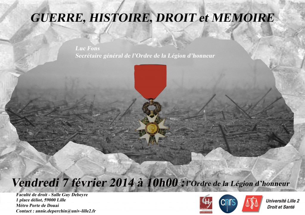 affiche Legion d'honneur