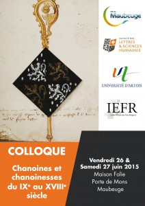 Colloque_Chanoines et chanoinesses .indd