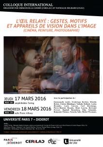 Colloque Paris 7 - 17mars 2016